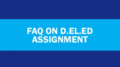 "Photo of ""Frequently Asked Questions About NIOS D.El.Ed. Assignment"""