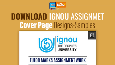 Photo of Download IGNOU Assignments Cover Page Design