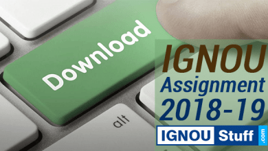 Photo of DOWNLOAD IGNOU ASSIGNMENT 2018-19 SESSION HERE