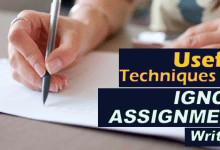 Secrets To Write IGNOU Assignment to Score High Marks