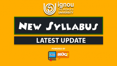 update about ignou new syllabus