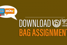 Photo of Download IGNOU BAG Assignments 2019-20