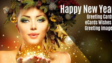 Photo of New year wishes and greetings with image