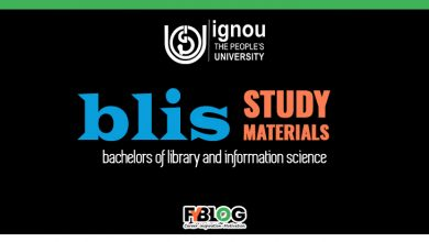 Photo of Ignou BLIS Books Download Link