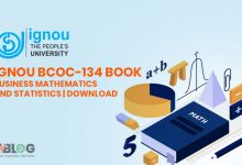 Photo of Ignou BCOC-134 Book- Business Mathematics and Statistics