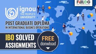 Photo of Ignou PGDIBO Solved Assignments- Free Download