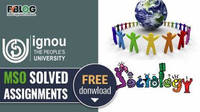 Photo of Ignou MSO Solved Assignments Free Download