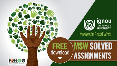 Photo of Ignou MSW Solved Assignments Free Download Links