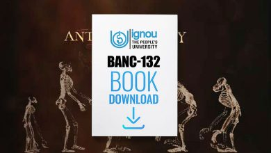 Photo of Ignou BANC-132 Book Download Link | BANC132 Textbook