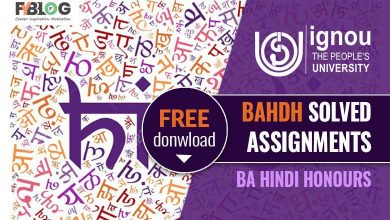 Ignou BAHDH Solved Assignment